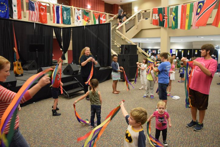Kids Zone at Culture Fest