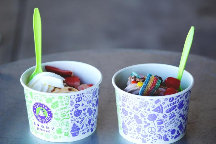 Yogurt Mountain froyo