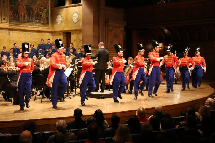 Princeton Symphony Orchestra tap dancing toy soldiers live performance