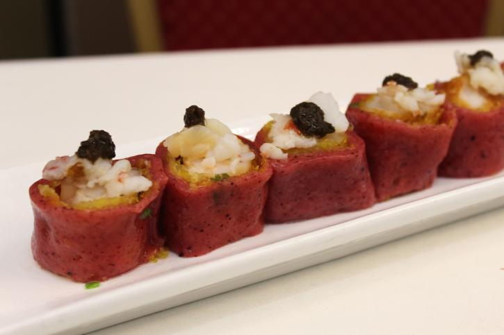 Rice Rolls at Fortune Terrace Chinese Cuisine