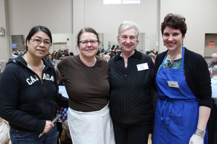 staff and volunteers at Ukrainian Community Centre