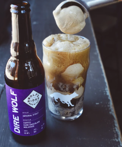 Wolf's Ridge beer float Father's Day bundle