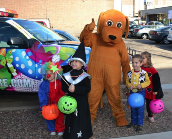 Downtown Eau Claire Trick or Treating