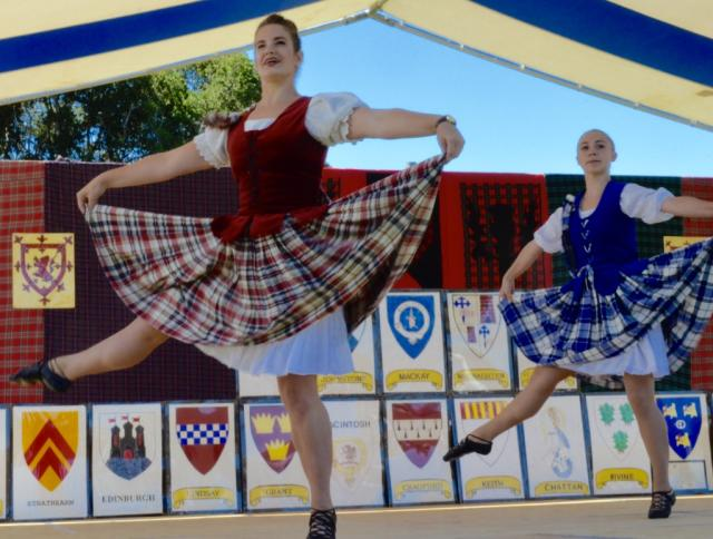 Scottish Festival Dancing