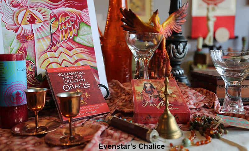 Evenstar's Chalice display