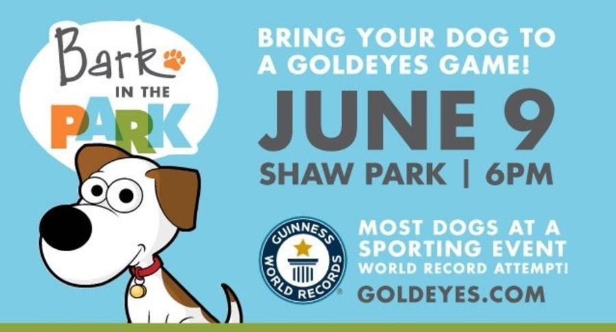 Bark in the Park, Shaw Park
