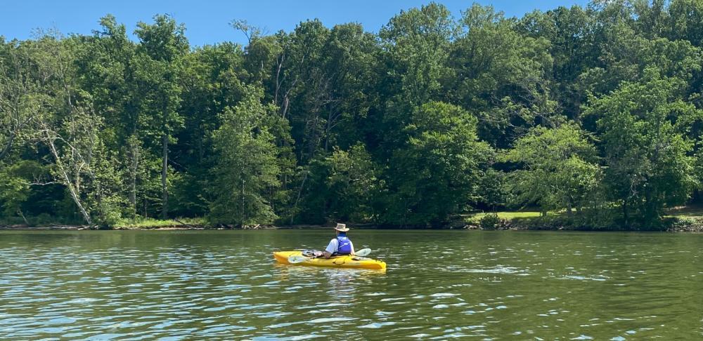 Kayaking at Pohick Bay Regional Park