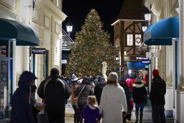 Holiday shopping at McArthurGlen Designer Outlet