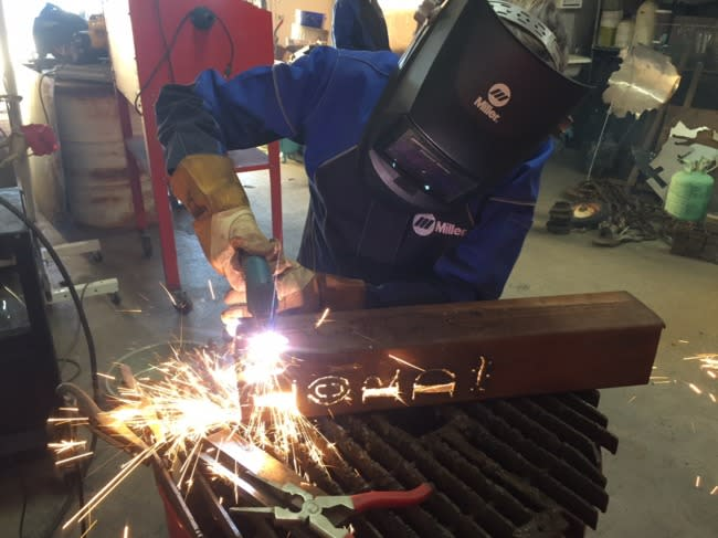 weld like a girl