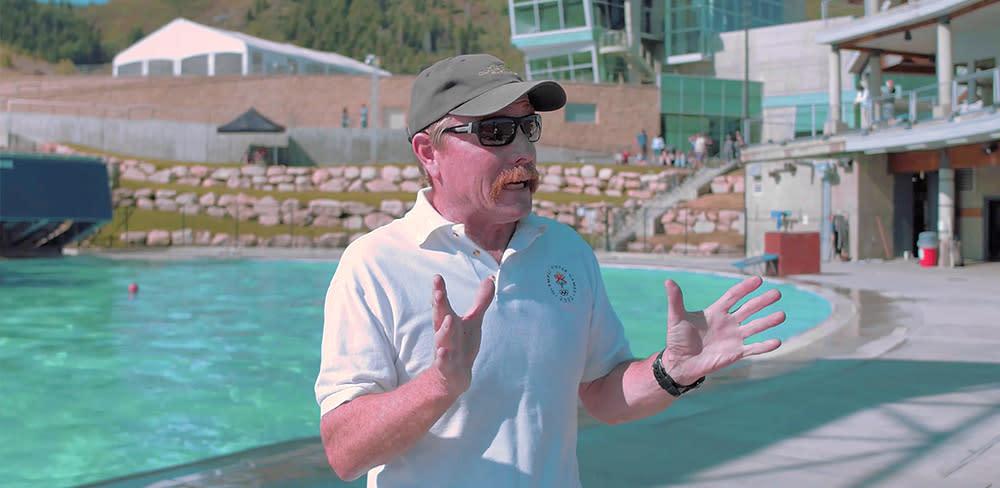 Utah Olympic Park Carl Roepke