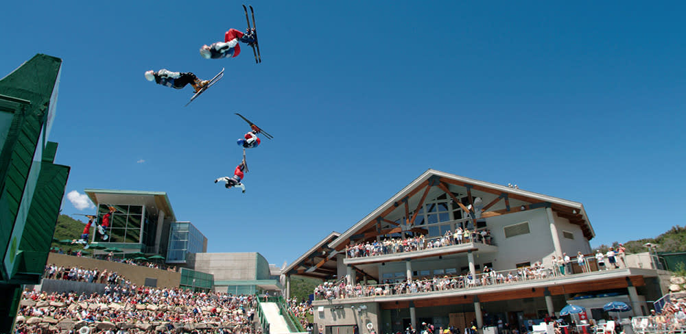 Utah Olympic Park Flying Allstars