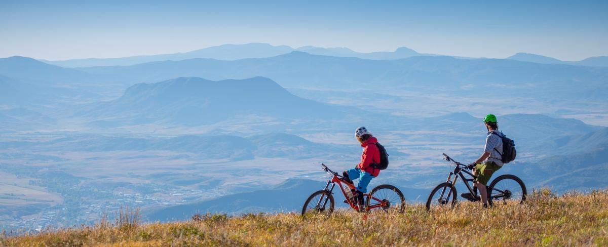 Mountain Biking at Steamboat Resort