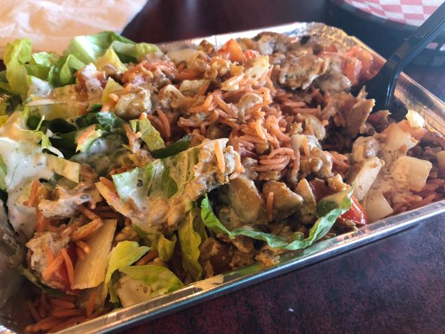ny eats chicken platter