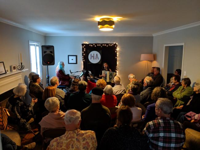 Parlor Concert hosted by Hillsborough Arts Council