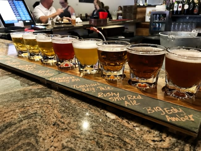 Prison Hill Brewing - beer flight - IMG_3665