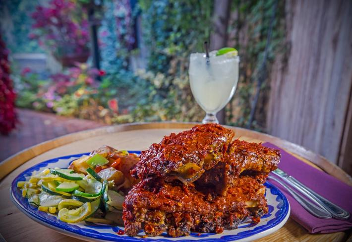 El Pinto Red Chile Ribs