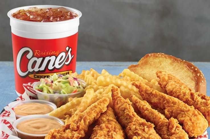 Raising Canes Chicken Finger