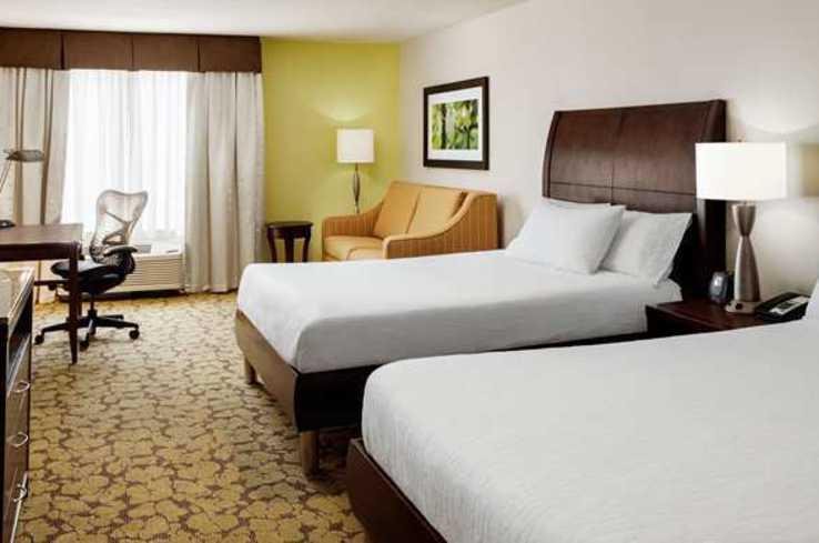 Double Guestroom Hilton Garden