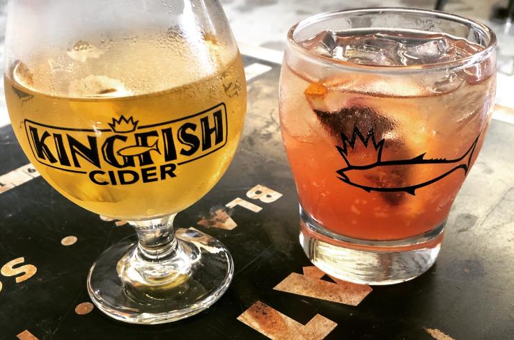 Kingfish Cider drinks