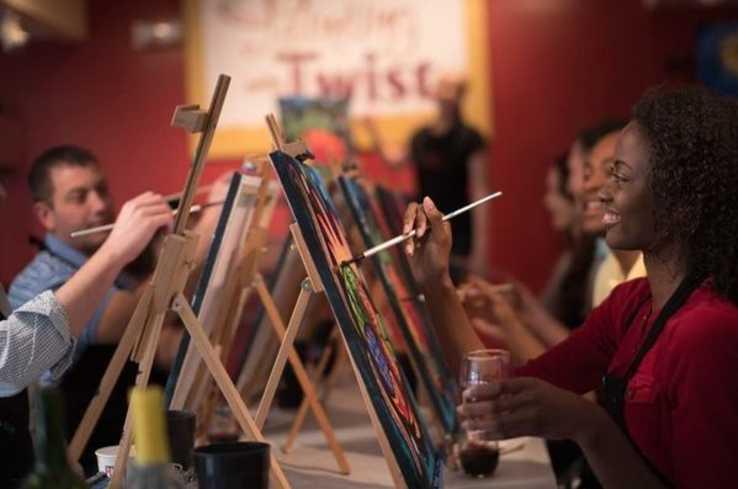 PWAT customers painting
