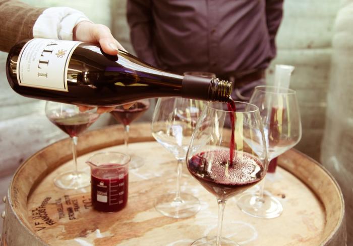 Valli Wine Tasting