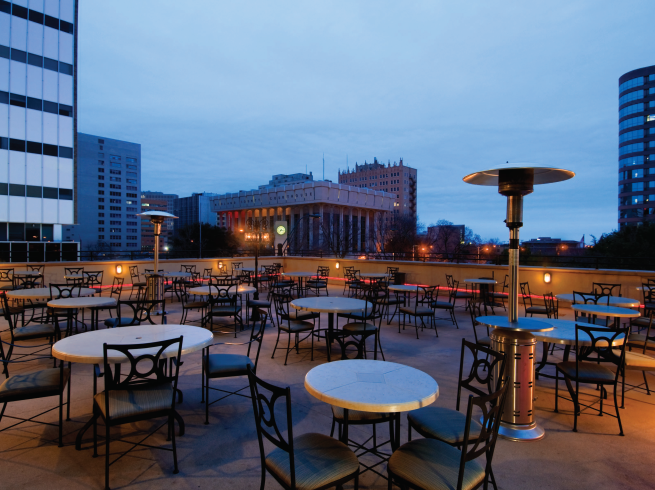 DoubleTree, Rooftop Patio