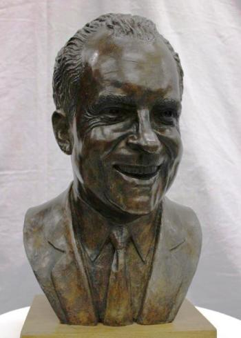 Richard Nixon Bust