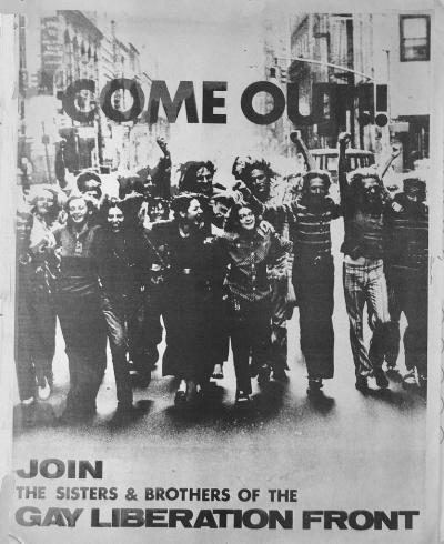 GLF Come Out - Art after Stonewall