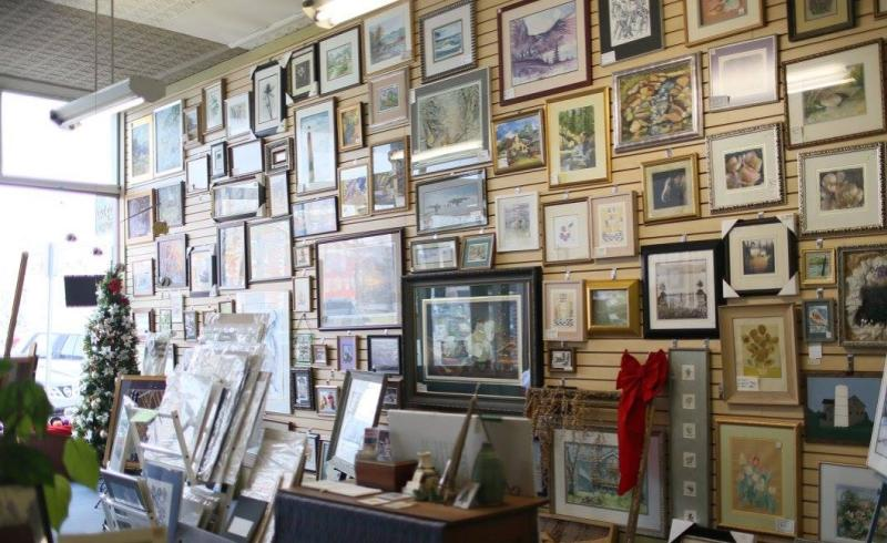 Purchase framed artwork or have something of your own framed at Maxwell's Art Gallery & Framing in Martinsville.