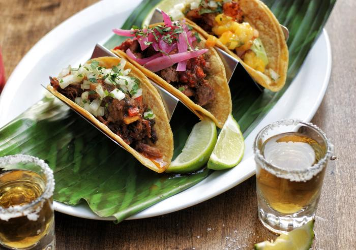 Cha Cha's Latin Kitchen Tacos