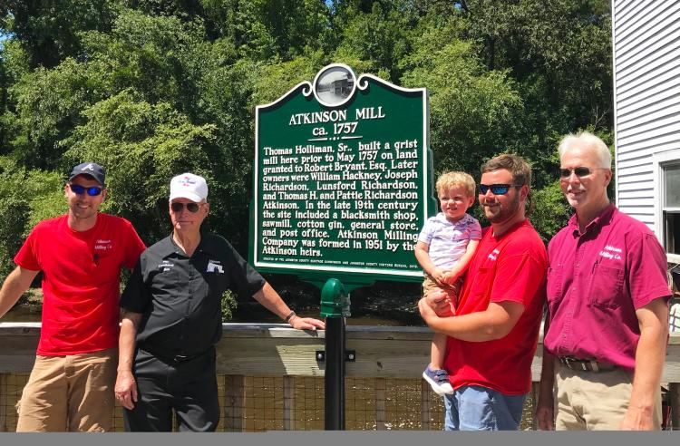 Atkinson Mill Historical Marker