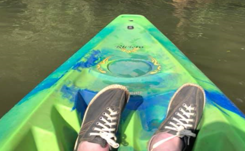 Taylor Burton Kayak