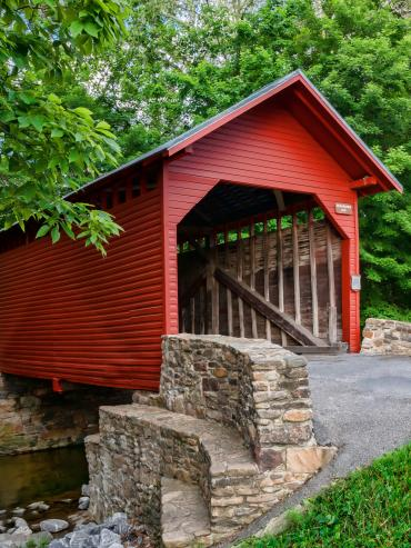 Roddy Road Covered Bridge in Thurmont, MD