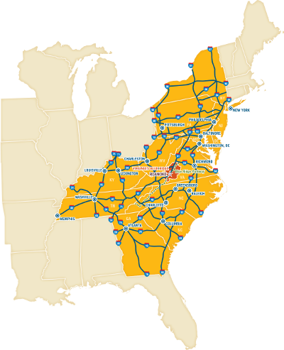 Driving Directions to Roanoke, VA | Maps & Routes