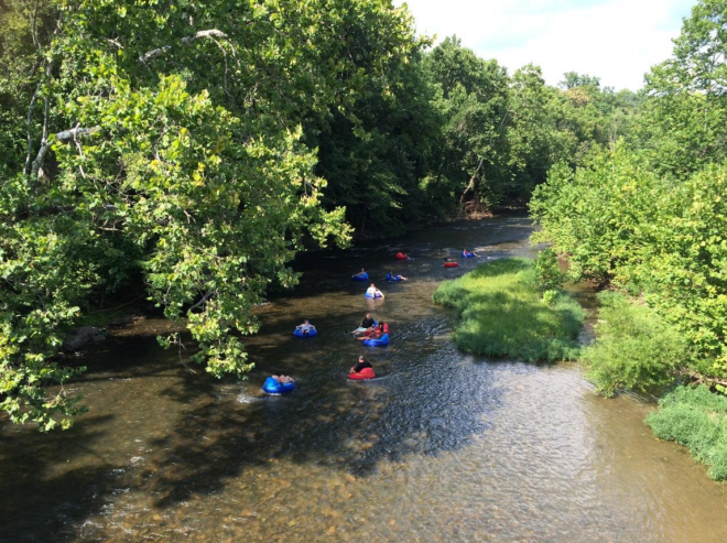 Tubing Roanoke River