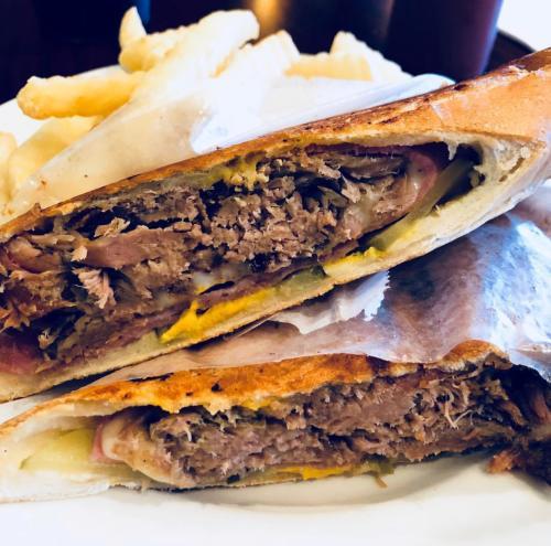 A Sandwich Cubana, served fresh at El Rincon Tropical in Virginia Beach.