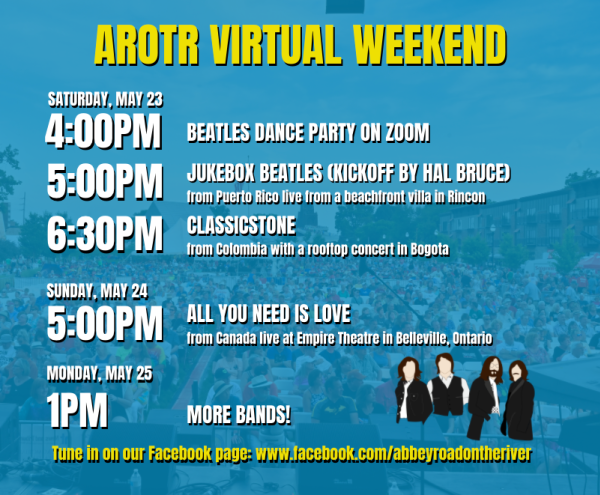 AROTR Virtual Weekend