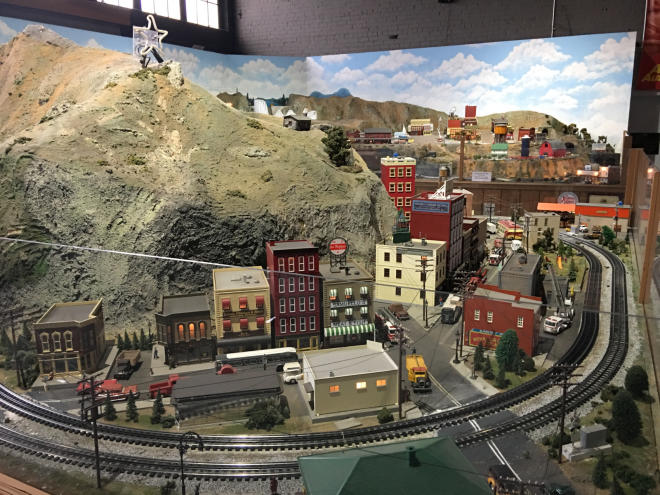 Virginia Museum of Transportation - Model Train Roanoke