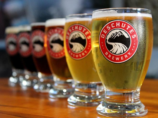 Deschutes Brewery Beer Flight