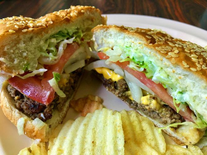 River Rock Restaurant - Burger