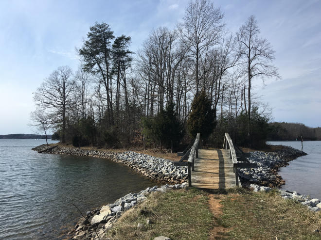 Smith Mountain Lake - Turtle Island