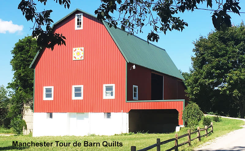 Manchester Tour de Barn Quilts