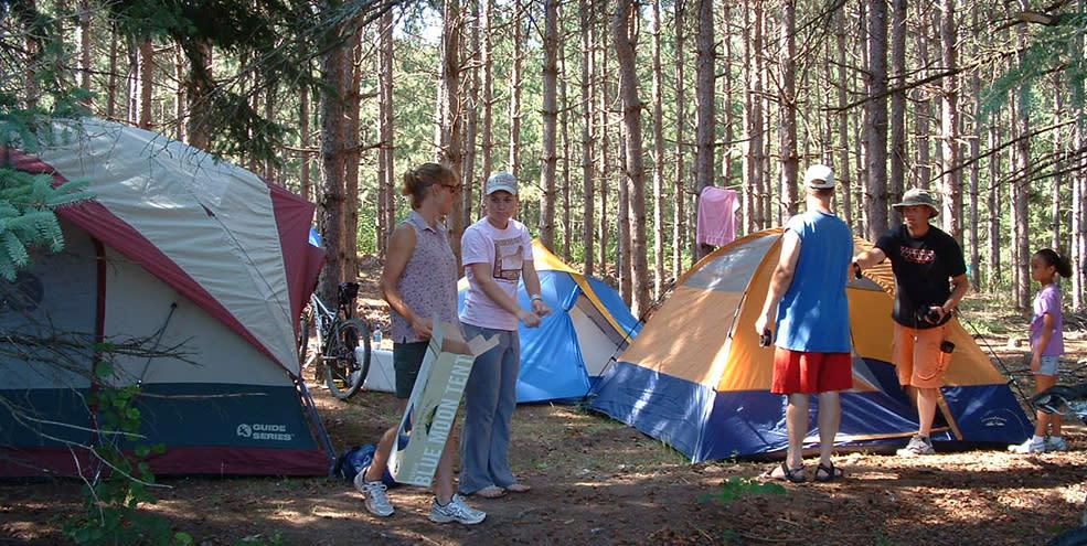 Wildlife Prairie Park - Camping