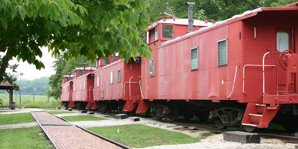 Wildlife Prairie Park - Train
