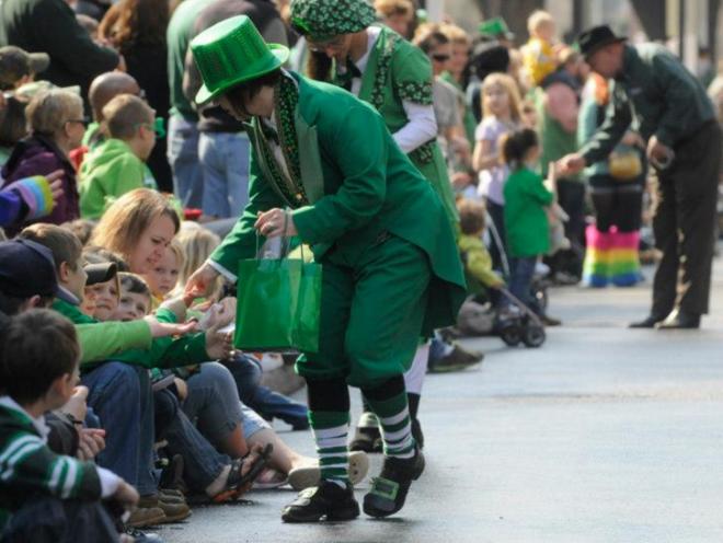 St. Patrick's Day Parade Roanoke