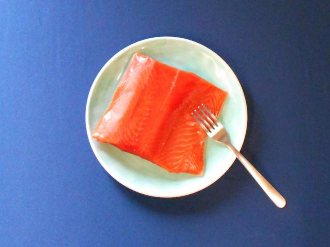 Frozen Fresh Sockeye Salmon