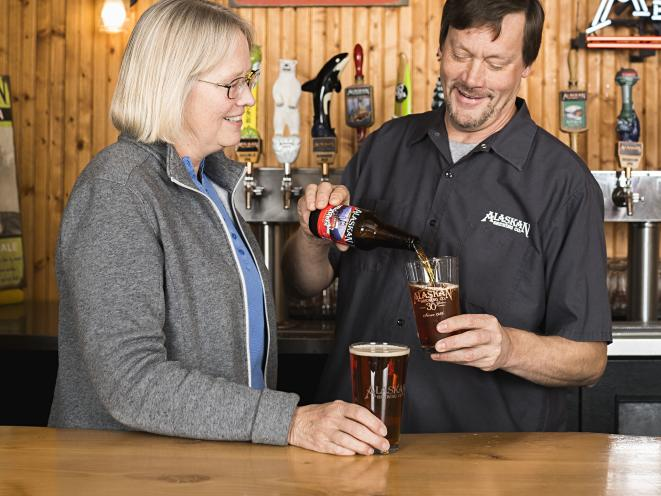 Alaska Air Magazine - Alaskan Brewing Co.