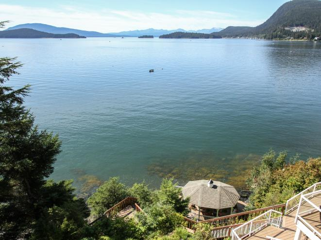 AKNS Gazebo & Auke Bay from Suite deck