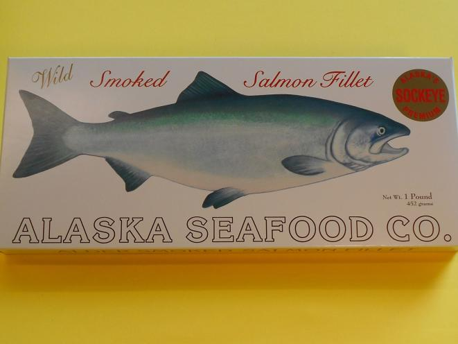 Smoked Sockeye Fillet 16 oz Gift Box