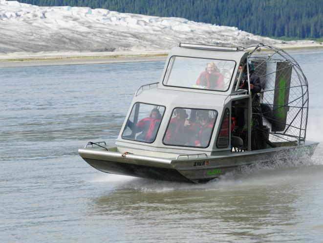 Close up on Airboat